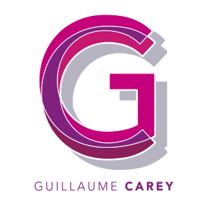 logo guillaume carey infographiste bordeaux 2015