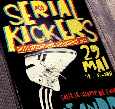 Serial Kickers Saint André de Cubzac 33 Battle Danse break